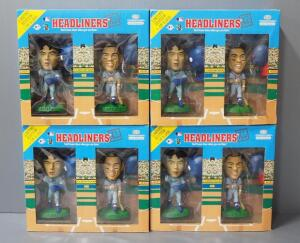 Headliners XL Nomo And Galarraga Bobblehead Double Pack, New In Package, Qty 4