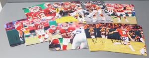 Kansas City Chiefs Dustin Colquitt #2 And Brodie Croyle #12 Signed Photos, Total Qty 10, 5 Of Each Player