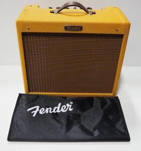 Fender Blues Junior Amp, With Cover, Powers On