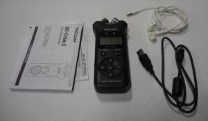 Tascam DR-07MKII Linear PCM Recorder, With Instructions And Headphones