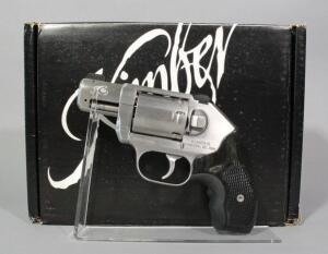 Kimber K6S Stainless .357 MAG 6-Shot Revolver SN# RV017265, CTC Laser Grip, Soft Case And Paperwork, In Original Box