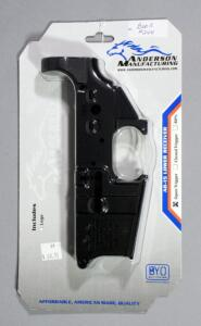 Anderson Mfg AM-15 Multi-Cal Receiver SN# 20138946, New In Package