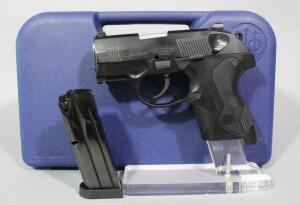 Beretta PX4 Storm 9mm Pistol SN# PZ5163E, 2 Total Mags And Extra Grips, In Hard Case