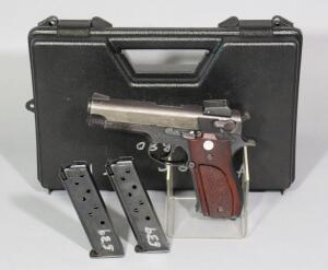 Smith & Wesson Model 539 9mm Pistol SN# A742539, 2 Total Mags, In Hard Case