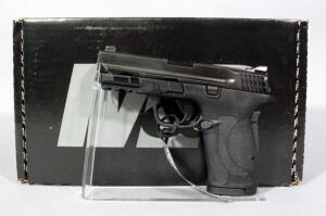 Smith & Wesson M&P380 Shield EZ .380 Auto Pistol SN# NFS3211, 2 Total Mags And Paperwork, In Original Box