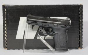 Smith & Wesson M&P380 Shield EZ .380 Auto Pistol SN# RDV0160, 2 Total Mags And Paperwork, In Original Box