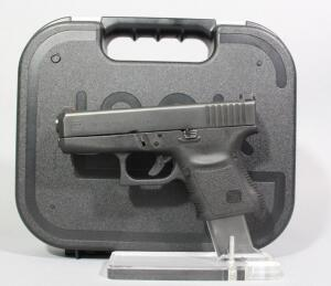 Glock Model 36 .45 Auto Pistol SN# DUL187US, 2 Total Mags And Paperwork, In Hard Case