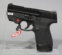 Smith & Wesson M&P9 Shield 9mm Luger Pistol SN# JHJ0168, Crimson Trace Laser, 2 Total Mags And Paperwork, In Original Box - 2