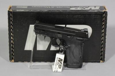 Smith & Wesson M&P9 Shield EZ 9mm Luger Pistol SN# NFB9662, 2 Total Mags And Paperwork, In Original Box