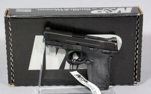 Smith & Wesson M&P9 Shield EZ 9mm Luger Pistol SN# NFD3485, 2 Total Mags And Paperwork, In Original Box
