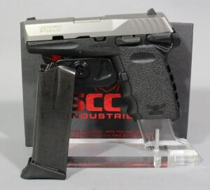 SCCY CPX-1TT 9mm Pistol SN# 936795, 2 Total Mags And Paperwork, In Original Box