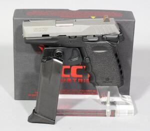 SCCY CPX-1TT 9mm Pistol SN# 935023, 2 Total Mags And Paperwork, In Original Box