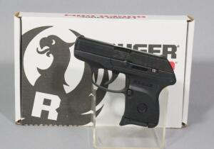 Ruger LCP .380 Cal Pistol SN# 372316593, With Holster, Soft Case And Paperwork, In Original Box