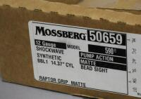 Mossberg 590 Shockwave 12 ga Pump Action Shotgun SN# V0992761, With Paperwork, In Original Box - 16