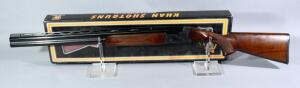 Khan Clay Deluxe 12 ga Over-Under Shotgun SN# 14741, With Chokes, In Original Box