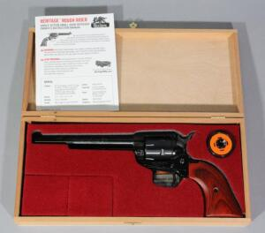 Heritage Rough Rider .22 LR 6-Shot Revolver SN# Z89510, With Extra .22 WMR Cylinder And Paperwork, In Wood Box