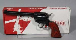 Heritage Rough Rider .22 LR 6-Shot Revolver SN# 1BH060226, With Extra .22 WMR Cylinder And Paperwork, In Original Box