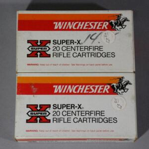 Winchester 7mm Mauser Ammo, Approx 40 Rds, Local Pickup Only