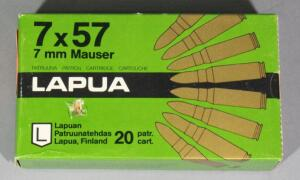 Lapua 7mm Mauser Ammo, Approx 20 Rds, Local Pickup Only