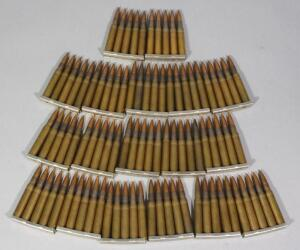 Military Surplus 30-06 M2 Ammo, Approx 90 Rds On 5-Round Stripper Clips, Local Pickup Only