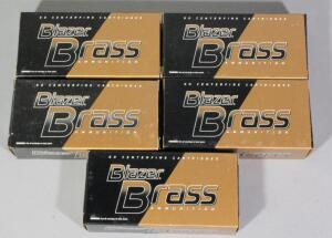 Blazer Brass 9mm Luger Ammo, Approx 250 Rds, Local Pickup Only