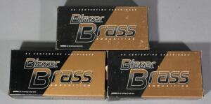 CCI Blazer Brass 9mm Luger Ammo, Approx 150 Rds, Local Pickup Only