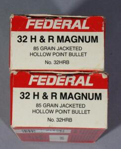 Federal .32 H&R MAG Ammo, Approx 100 Rds, Local Pickup Only