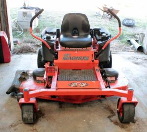 Bad Boy 725 CC MZ Magnum Gas Powered Riding Lawn Mower With 54in Deck, Hours Showing 41.3, Kohler 7000 Series Motor