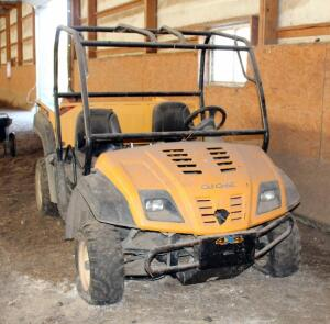 2004 Cub Cadet UTV, 4x4 With Dump Bed, Will Not Start, Unknown Hours, Working Order Unknown