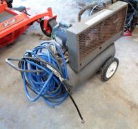 Industrial Air Manufacturing Company Electric Air Compressor, 22 Gallon Tank, Includes Hose And Pressure Nozzle - 7