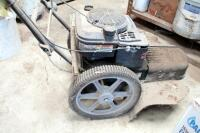 Craftsman Gas Powered Two Wheeled Weed Trimmer With Briggs And Stratton Mower, Model 917.773706, Unknown Working Order - 7