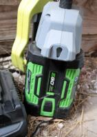 EGo Cordless Battery Powered Weed Trimmer, Model ST1520S, And Ryobi Electric 8in Pole Saw, Model RY43161 - 7