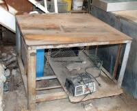 Steel Welding Tables, Qty 2, 29.5in x 42.5in x 43in, And 36.5in x 36in x 24in - 5