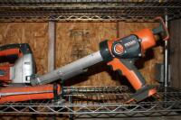 Ridgid Cordless Power Tools, Including Screw Driver, Saw, Impact Driver, Caulk Gun, And Flash Light, No Charger Or Batteries - 3