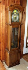 Daneker Grandmother Clock, 71X 17in X 11in, Unknown Working Order