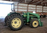 John Deere 5310 Diesel Tractor With Hydraulic Front Bale Spike, 1861.2 Hours Showing, 64HP, Sync Shuttle Transmission, Front Wheel Assist, See Description For Video - 6