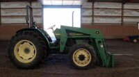 John Deere 5310 Diesel Tractor With Hydraulic Front Bale Spike, 1861.2 Hours Showing, 64HP, Sync Shuttle Transmission, Front Wheel Assist, See Description For Video - 7