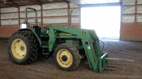 John Deere 5310 Diesel Tractor With Hydraulic Front Bale Spike, 1861.2 Hours Showing, 64HP, Sync Shuttle Transmission, Front Wheel Assist, See Description For Video - 8