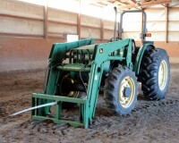 John Deere 5310 Diesel Tractor With Hydraulic Front Bale Spike, 1861.2 Hours Showing, 64HP, Sync Shuttle Transmission, Front Wheel Assist, See Description For Video - 12