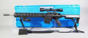 Rock River Arms X Series 7.62 NATO / 308 Rifle SN# UT 110932, With Bushnell Trophy 3-9x40 Scope And Nylon Sling, In Original Hard Case, See Descrip.