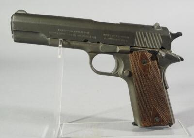 Colt 1911 US Army United States Property .45 ACP Pistol SN# 80207, Flaming Cannonball With 4 Flames