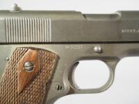 Colt 1911 US Army United States Property .45 ACP Pistol SN# 80207, Flaming Cannonball With 4 Flames - 5