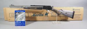 Marlin Model 1895 SBL 45-70 Gov't Lever Action Rifle SN# MR04988G, With Paperwork, Approx 20 Rds Fired, In Original Box