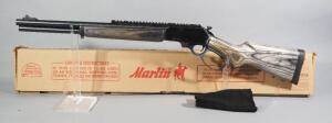 Marlin Model 1895 ABL 45-70 Gov't Lever Action Rifle SN# MR62834E, With Gun Sock, In Original Box