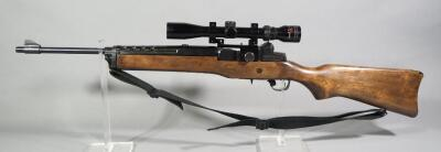 Ruger Mini-14 .223 Cal Rifle SN# 183-14463, With Tasco 3-9x32 Scope, Nylon Sling And Dust Cover, No Mag