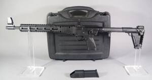Kel Tec Sub2000 G17/22 Mag .40 S&W Folding Carbine SN# F0T96, With SGM Tactical Speed Load, In Hard Case