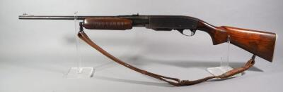 Remington Gamemaster Model 760 .270 Win Pump Action Rifle SN# 168880, With Leather Sling