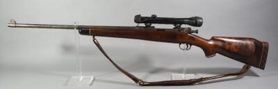 US Springfield Armory M1A1 30-06 Bolt Action Rifle SN# 1175557, With Hawthorne Scope And Leather Sling