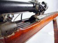 US Springfield Armory M1A1 30-06 Bolt Action Rifle SN# 1175557, With Hawthorne Scope And Leather Sling - 16
