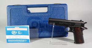 Colt Series 80 Government Model .45 Auto Pistol SN# GV201397, In Hard Case